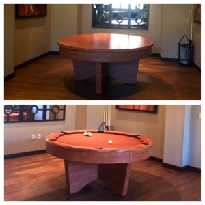 poker pool table