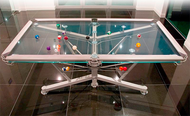 High Quality Glass Pool Tables Have Become A Stylish Addition In Leisure Rooms And  People Who Enjoy Playing On A Transparent Table Are Very Fond Of A Table  Made Out Of A ...
